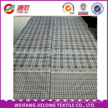 Ready goods plain lattice printing 100 % cotton bedding fabric
