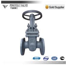 Russian gost standard carbon steel handwheel stem wedge gate valve pn16