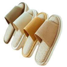 Sapatos baixos femininos de piso interior, verão
