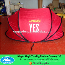 Double layer 3 person pop up tent