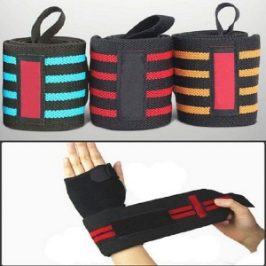 Bowling ankle wrist weight sweat bands support
