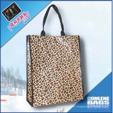 Leoparddruck PP gewebte Tasche (KLY-PP-0184)