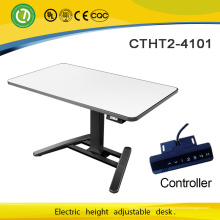 A mesa ereta que levanta o assento da mesa do suporte do portátil ajusta a altura ajustável para estar