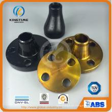 ASME B16.9 CS Ecc. Adaptador de tubería de acero al carbono reductor (KT0305)
