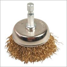 Alimentación herramientas accesorios alambre Copa OEM de cepillo limpieza