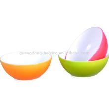3 PCS qualificados clara recipiente grande salada plástico saladeira