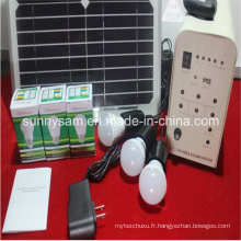 Système solaire léger de la maison 20W pour l'éclairage à la maison rural