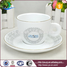Оптовая шикарная керамическая чашка и блюдце