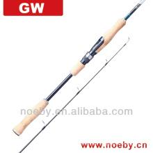 Canne à pêche humanisée de pêche à la basse / tilapia à 4 sections unique