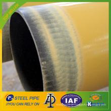 Tubulação de aço sem emenda da isolação térmica com alta densidade do plutônio