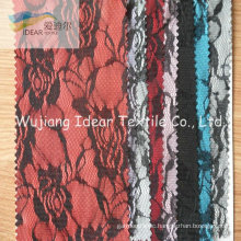 Lace Fabric Bonded With Polyester Fabric For Jewelry Accessory