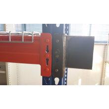Ce Warehouse Storage USA Teardrop Wire Mesh Decking Pallet Rack with P Beam