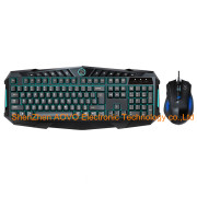 7600 Professional Game USB Wired Keyboard for Computer and Laptop