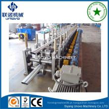 Máquina de fabricação de tubos de metal oval