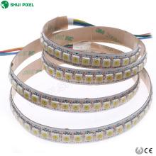 Alta qualidade impermeável 5050 digital luz branca 144 levou tira APA102 SK9822