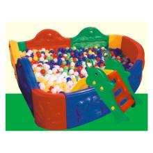 Aire de jeux intérieure jeu doux Équipement de piscine à balles en plastique pour enfants LE.QC.002