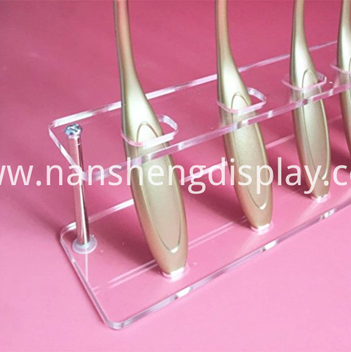 Clear Acrylic Brush Storage Organizer