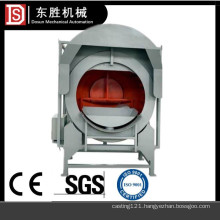 Investment casting sanding coat machine