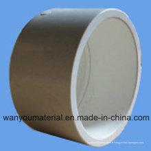 Bouchon de tuyau en PVC de bonne qualité pour l'approvisionnement en eau