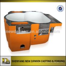 Fabricación del OEM China ASTM arena de acero de fundición caja de cambios