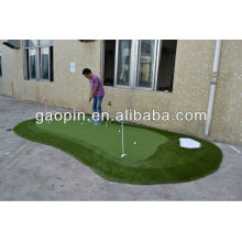 Verde del golf, verde artificial decorativo del golf del césped artificial