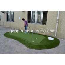 Гольф зеленый, декоративный зеленый искусственный газон для гольфа зеленый