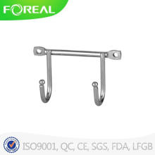 Chromed Metal Wire Double Hooks