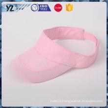 Latest arrival fashionable bulk sale sun visor cap wholesale price