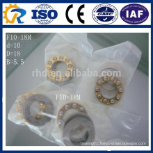 Miniature Flanged Axial Ball Thrust Bearing F10-18M 10*18*5.5mm