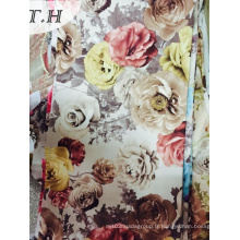 Digital Print Velvet Fabric 2015 Nouveau design