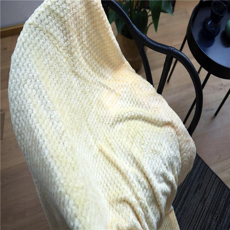 Jacquard Velvet Blanket