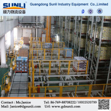 Professional Automated Warehouse A/S R/S Steel Rack System