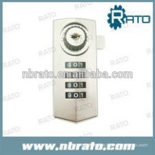 zinc alloy combination digital code lock for gym with master key