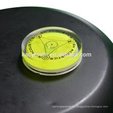 40 x 10mm mini burbujas redondas de nivel de burbuja