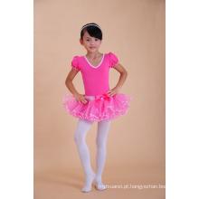 Fábrica de moda por atacado meninas do bebê tutu vestido de ballet vestidos meninas dançarina desgaste vestido