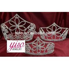 Hochzeit Prinzessin Braut benutzerdefinierte Festzug Rhinestone Krone