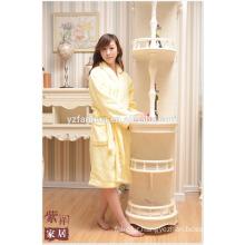 Best Price For Hotel Home Fleece Bathrobe for Women