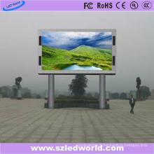 1024X1024 Cabinet à l'extérieur de l'installation de deux Polonais de panneau d'affichage à LED