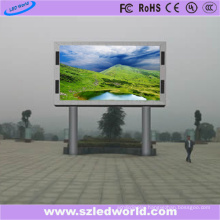 1024X1024 Cabinet Outside LED Display Board Two Pole Installation