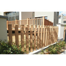 Durable Solid Wpc Garden Fence , Eco-friendly Wood Plastic Composite Railing