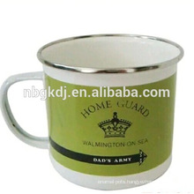 enamel shaped mugs,custom shape mug