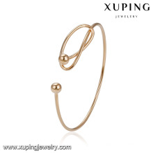 51918 Xuping gros plaqué or perles style bracelet manchette mode indienne bangles sexe bracelet