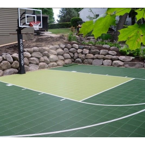Home Backyard Interlocking Tile Floor Modular