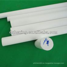 Barra de teflón virgen blanca