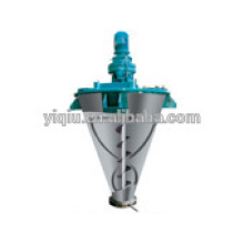Foodstuff double screw conical mixer