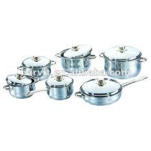 Sets de salsa de acero inoxidable pulido