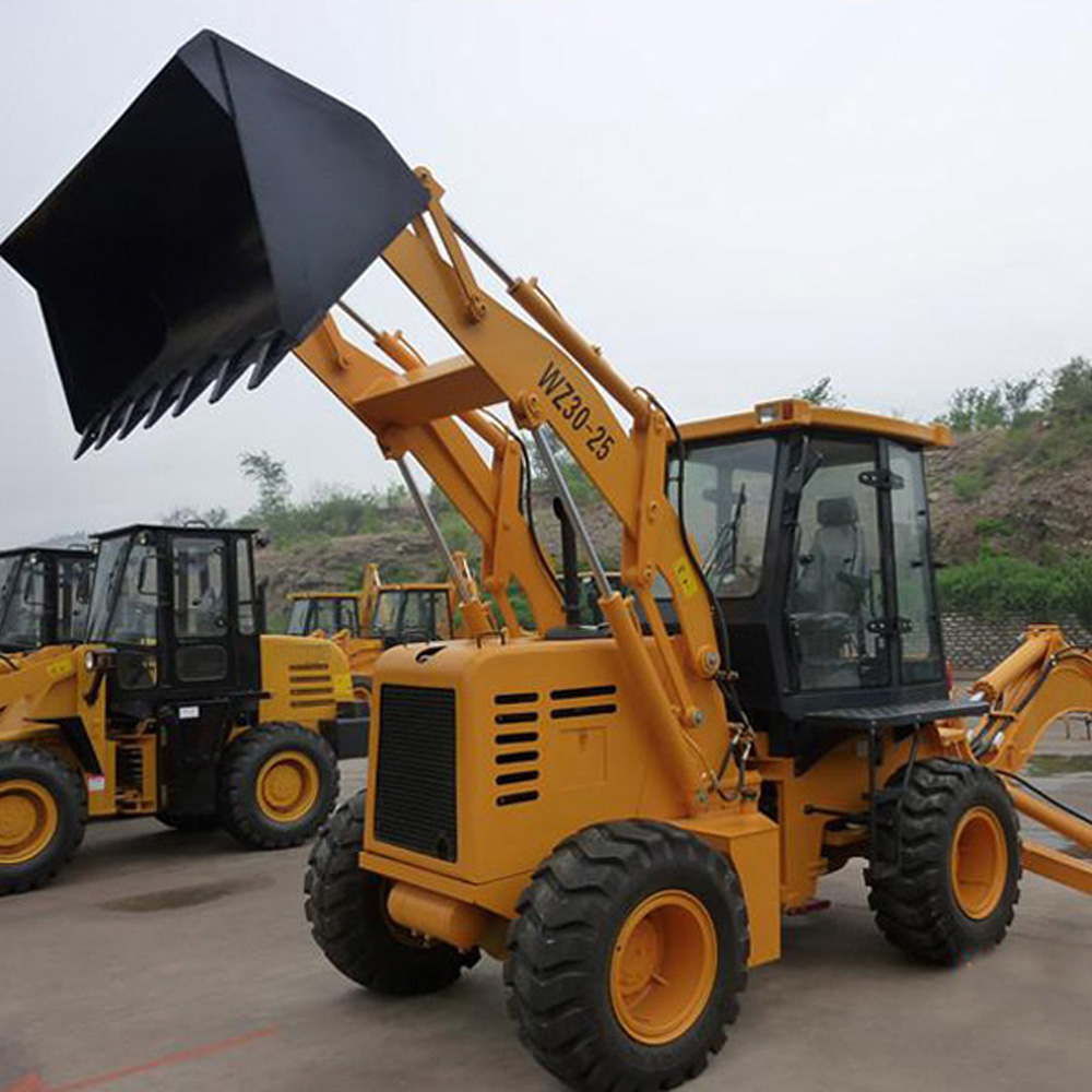 Tunnel Backhoe Loader