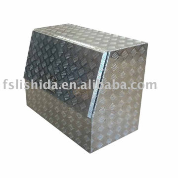 aluminum checker plate tool box AL900