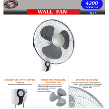 16′′ Wall Fan -Wall Mount Oscillating Quiet Fan