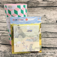 Wholesale Promotion Stationery and School Supplies Custom Nice and Funny Shaped Paper Foldable Sticky Notes Memo